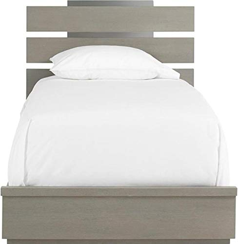 Buy Discount Smart Stuff Furniture Panel Bed AXIS Twin Symmetry Gray New