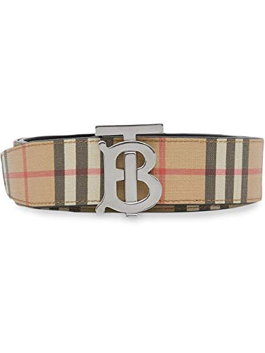 Luxury Fashion | Burberry Heren 8021957 Beige Leer Riemen | Lente-zomer 20