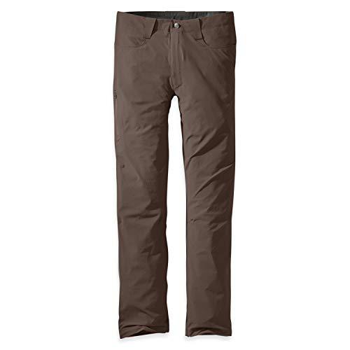 Outdoor Research Pantalones Ferrosi para Hombre - 30', Hombre, Pantalones de Senderismo, 264435, Gris (Mushroom), 48