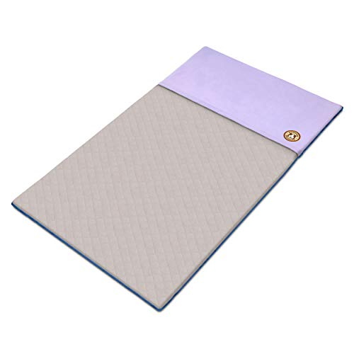 GuineaDad Fleece Liner 2.0 | Guinea Pig Fleece Cage Liners | Guinea Pig Bedding | Burrowing Pocket Sleeve | Extra Absorbent Antibacterial Bamboo | Waterproof Bottom (C&C 2x4, Purple)