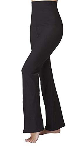 Pantaloni da donna con guaina di controllo pancia, rassodante e snellente Black XXL (50) Gamba regolare
