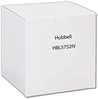 Hubbell Wiring Systems HBL5752IV Steel Metal Raceway Alarm Device Box, 2 Gang, 4-41/64