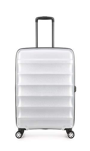 Antler Portobello Medium Hard Shell Suitcase | Travel Case | Suitcases Medium | Suitcases with Wheels | Hard Case | Spinner Luggage | Lightweight | Luggage Set | Hard Sided Suitcases