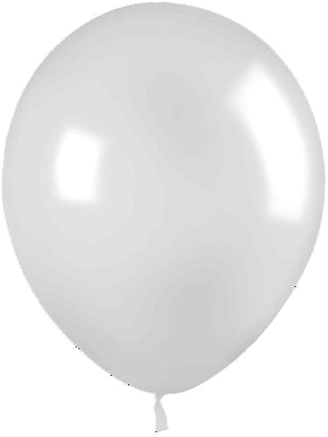 Balloons 11 White 100 Bag by Tuftex