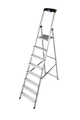 KRAUSE Stehleiter Safety, 8 Stufen, 126368