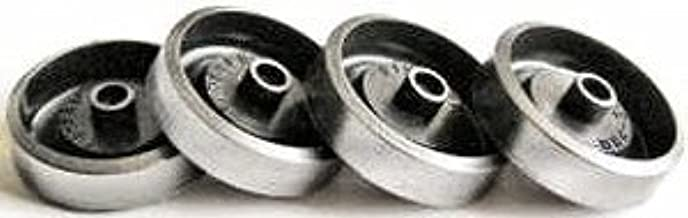 Pinewood Pro Derby Ultra-Lite Graphite Coated Wheels for use on Pinewood Derby Cars