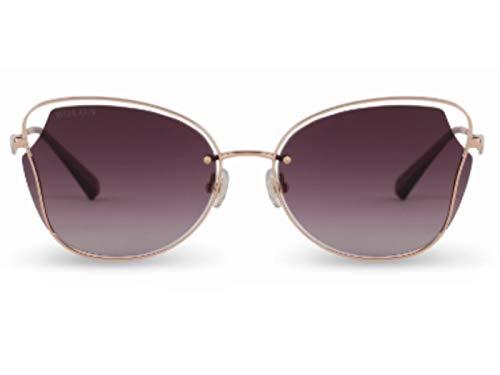Bolon BL7121 A30 - Gafas de sol para mujer Rosa-oro 55
