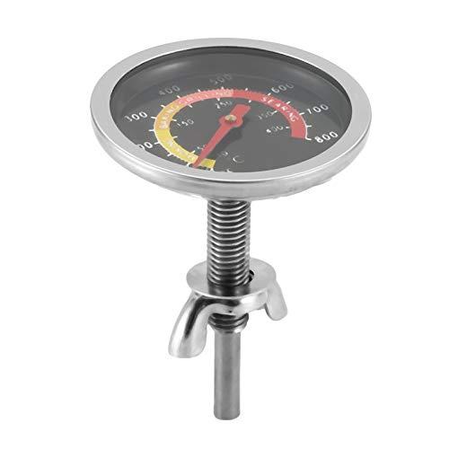 Bianchi - Termometro da Forno, in Acciaio Inox, per Barbecue