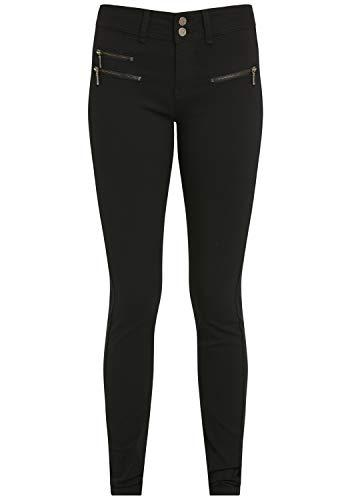 fransa Damen Hose Stoffhose 20600704, Größe:34, Farbe:Dark Peacoat (60468)