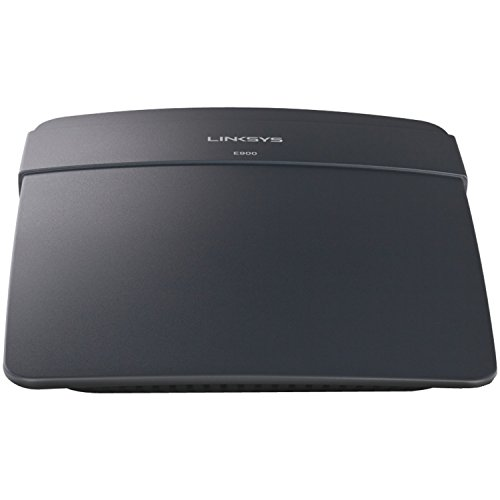 Linksys E900-EU – Router inalámbrico N300 Linksys E900 (Wireless-N, 4 x Fast Ethernet), Negro