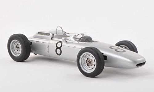 Porsche 804 F1, No.8, J.Bonnier, GP NürburGrüng , 1962, Modellauto, Fertigmodell, AUTOart 1 18