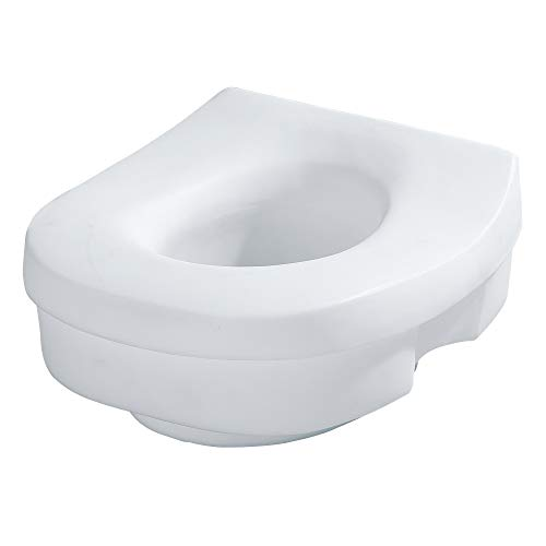 moen raised toilet seats Moen DN7020 Home Care Elevated Toilet Seat, Glacier