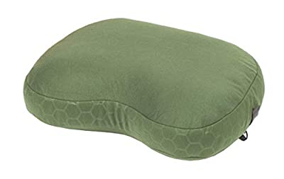 Exped Down Pillow for Camping & Travel, Large, Mossgreen