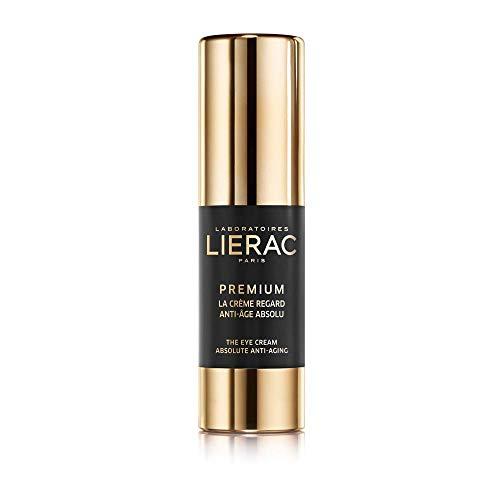 Lierac Premium Crema Contorno Occhi Anti Età con Acido Ialuronico, per Tutti i Tipi di Pelle, Formato da 15 ml