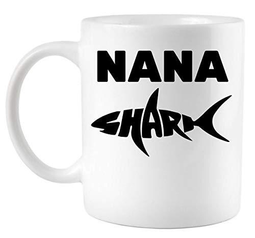 Nana Shark Coffee Mug Taza de 11 oz