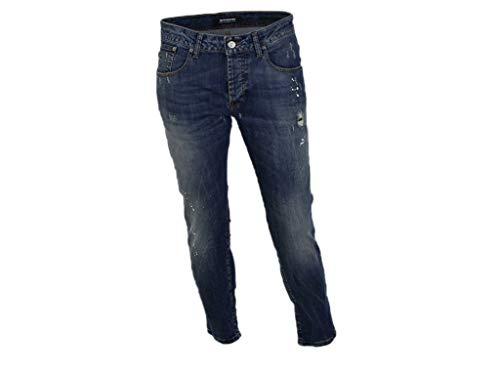 Takeshy Kurosawa Jeans mit Used-Look, Gr. 34