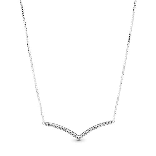 PANDORA Collana con ciondolo Donna argento - 397802CZ-45