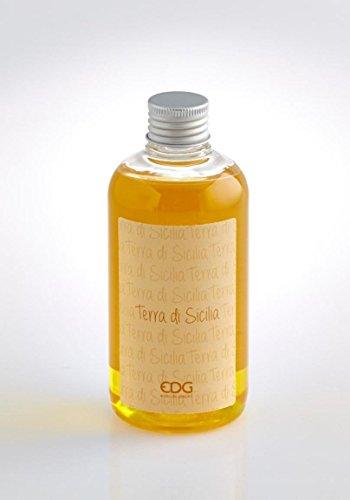 Ricarica per diffusori a Bastoncino profuma Ambienti EDG, 250 ml, fragranza Terra di Sicilia