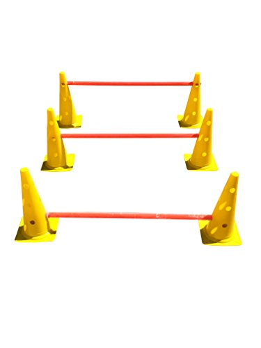 Kids Outdoor Sports Fun & Play Jumping Games Equipment Hurdle Cone Ladder***new