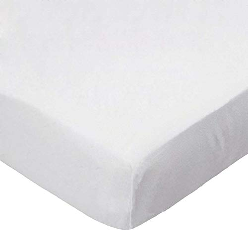Review Of SheetWorld 100% Cotton Percale Extra Deep Fitted Portable Mini Crib Sheet 24 x 38 x 5.5, S...