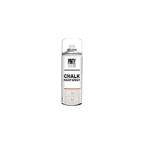 Pinty Plus Chalk Finish CK788 Spray Paint Broken White - Pintura en Aerosol, 400 ml, Blanco Roto