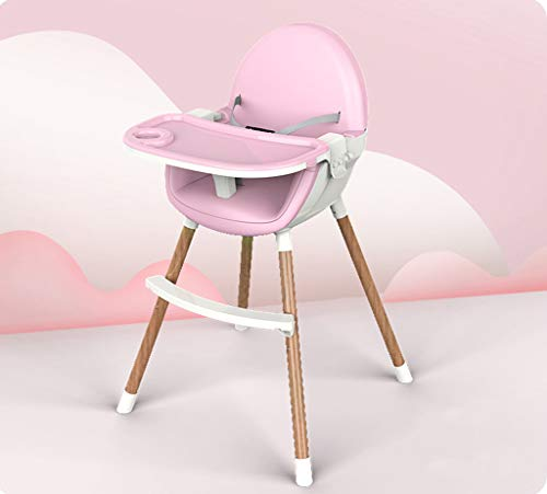 Find Bargain Highchairs 2 in 1 Foldable Portable Eating Solid Wood Children's Table Multi-Function S...