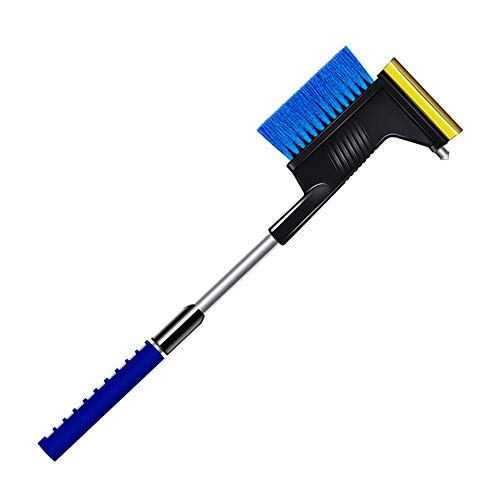 Find Discount Extendable Snow Brush Shovel Ice Scraper Brushes Auto Windshield Snowbrush Long Handle...
