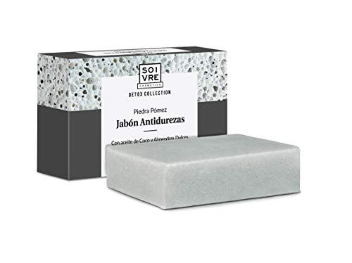 Lot de 2 savons anti-callosités 125g - Effet pierre ponce