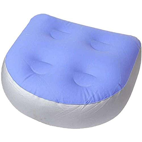 Gmasuber Hot Tub Booster Seat – Onderdompelbaar gewogen Jacuzzi Spa Kussen – Wasbare kussenhoes met zuignappen