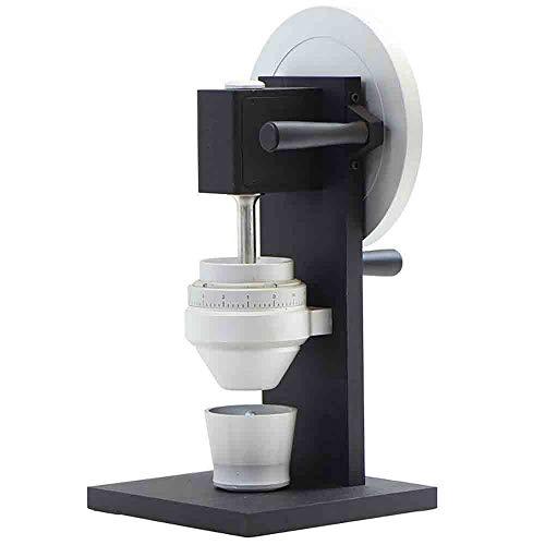 HUANXI Italienische Ganzstahl-Handmühle, Superfine Slag-Free Adjustable Mill, Kaffeemühle