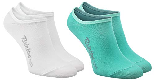 Rainbow Socks - Man Vrouw Kousenvoetjes