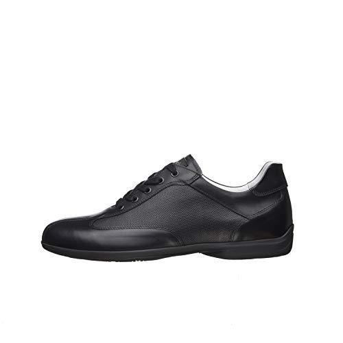NeroGiardini E001430U Sneakers Uomo in Pelle - Nero 41 EU