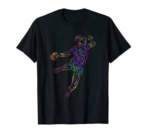 Handballerin Handballspielerin Geschenk Handball T-Shirt