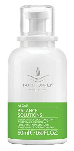 TAUTROPFEN Naturkosmetik, Alge, Erfrischende Gesichtemulsion für normale bis Mischhaut, 50 ml