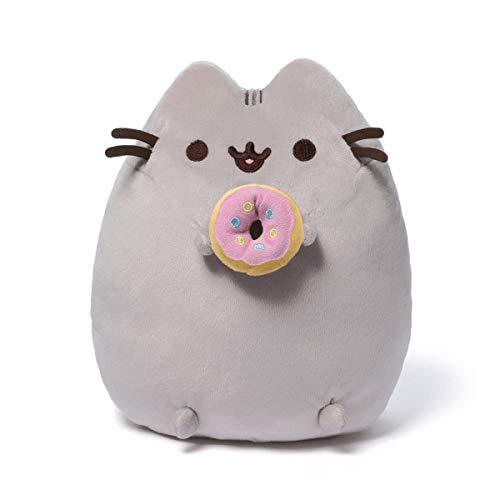 GUND 6055546 - Pusheen mit Donut Plüsch, 24 cm