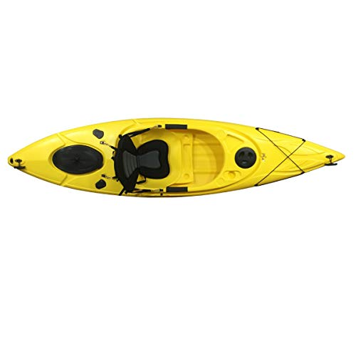 Cambridge Kayaks ES, Herring Amarillo Kayak DE Paseo Y Pesca, RIGIDO,