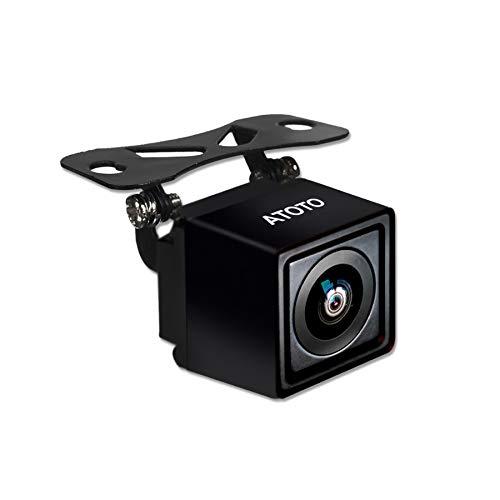 ATOTO AC-HD02LR Telecamera per retrovisore 720P con retrovisore dal vivo, qualità dell'immagine HD, visione notturna/impermeabile, compatibile con ATOTO A6 KarLink/F7/S8/. Non compatibile SA102/A6Y
