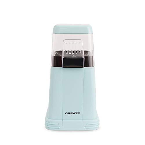 CREATE Popcorn Maker - Máquina Eléctrica de Palomitas de Maíz (Azul)
