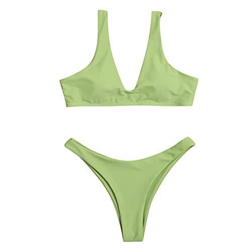 GaTIK Bikini Set Push Up Badeanzug Beachwear Gepolsterte Badehose
