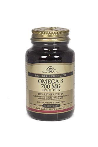 Solgar Omega-3 double Force Softgels, Paquet de 30 Comprimés