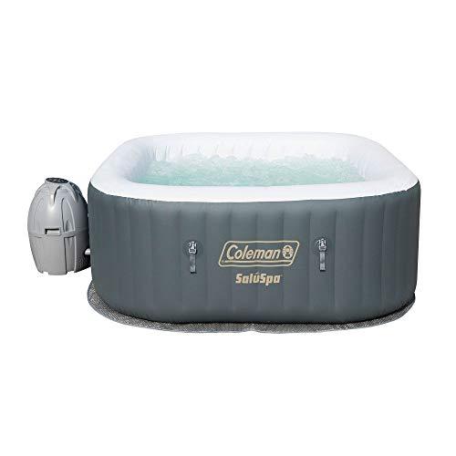 Coleman SaluSpa Inflatable Hot Tub Spa with Chlorine Spa Sanitizer Kit
