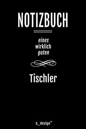 Notizbuch für Tischler: Originelle Geschenk-Idee [120 Seiten kariertes blanko Papier]