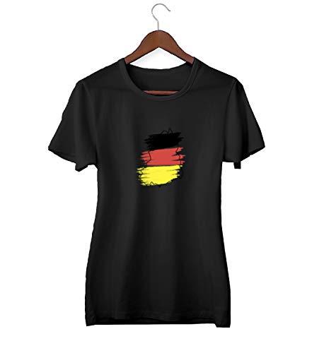 Duitsland Kaart Vlag Retro_KK024260 shirt T-shirt Tshirt voor mannen cadeau voor hem cadeau verjaardag Kerstmis