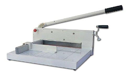 Snijmachine van gietijzer, hoge spoelbak, lengte 31,5 cm, 400 FF