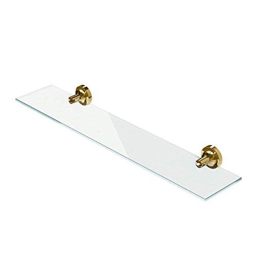 Geesa plank Tone, metaal, kleur: goud, 60 x 13 x 4,9 cm