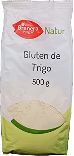 Gluten de Trigo Natur. 2 paquetes de 500g. El Granero (Total 1Kg)