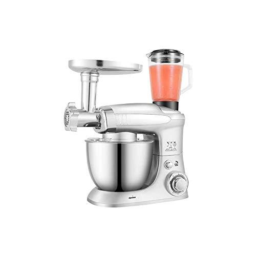 UNU_YAN Máquina de Chef multifunción Modern Simplicity Houseal, pequeña máquina amasadora, Stand OD Mixer, Huevo batidor de Masa Crema licuadora Picante Carne