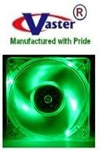 Green Flash LED 80mm X 80mm x 25Mmm Case Fan
