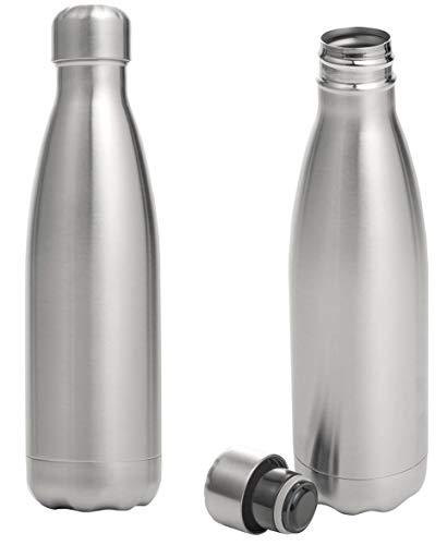 Abert - Botella térmica de 50 cl de acero inoxidable, hermética calidad extra