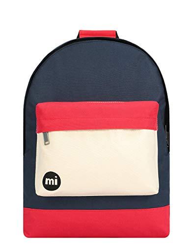 Mi-Pac Mochila de a Diario, Blue Black/Red 740001-S30